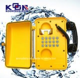 Resistant IP66 Waterproof Telephone Knsp-01強く、Weather