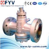 Управляемый шестерней клапан штепсельной вилки давления сбалансированный