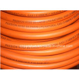ISO3821 Polyester Braided Reinforcement 8mm x 15mm Natural Gas Rubber Hose