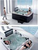 2.8 5つの人の屋外のアクリルのマッサージの浴槽をメーターで計る