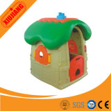 Petite maison de théâtre d'intérieur de plastique de cour de jeu d'enfant en bas âge