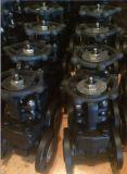 Valvola d'acciaio forgiata dell'estremità della galleria della flangia