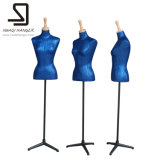 Modulo femminile blu del vestito, Mannequins del sarto, Mannequins femminili