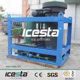 Máquina de hielo clásica del tubo del PLC de Icesta (IT10T-R4A)