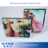 Bâti en verre de photo de sublimation approprié à la machine de sublimation de vide