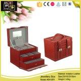 Caixa cosmética do armazenamento da jóia de Fashoin (8109)