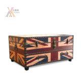 Britischer Art PU-Tisch-Schrank