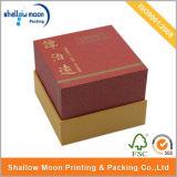 Rectángulo de papel de encargo de embalaje del regalo con la pieza inserta (QYZ393)