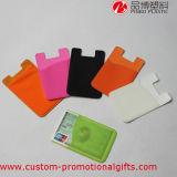 Sostenedor Pocket de la tarjeta de crédito del teléfono de la identificación de la etiqueta engomada adhesiva
