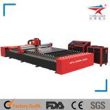 Automatische CNC-Kohlenstoff-Faser-Metalllaser-Ausschnitt-Gravierfräsmaschine (TQL-MFC1000-2513)