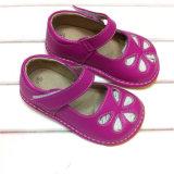 Ботинки 2016 детей ботинок младенца для ботинок оптовой продажи девушки пискливых