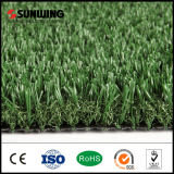 Esteira plástica artificial Uv-Resistente da grama do certificado do GV para o jardim ao ar livre