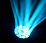 LED 스튜디오 가벼운 이동하는 헤드 19X15W RGBW K10 B 눈