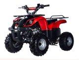 In het groot Stier 110 van de Vierling ATV met de Automatische Motor ATV van de Luchtkoeling