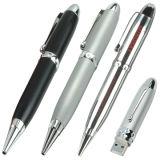 Azionamento tradizionale dell'istantaneo del USB della penna con porcellana blu e bianca