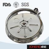 ステンレス鋼の衛生円形のタイプタンクマンホールカバー(JN-ML1002)