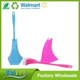 Sostenedor de cepillo del tocador de la herramienta de la limpieza del hogar y cepillo plásticos del tocador