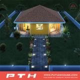 Huis van de Villa van het Staal van de luxe het Lichte met Diverse Types