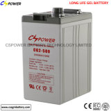 gel-Batterie-Letztes der tiefen Schleife-2V600ah Solarmit längerer Lebensdauer