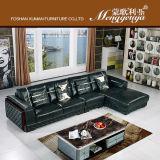 Klassisches Spitzenkorn-Leder-Sofa (928#)