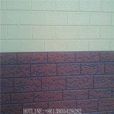 Внешняя конструкция мрамора камня панели сандвича пены полиуретана плакирования стены