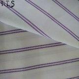 Il filato tessuto del popeline di cotone ha tinto il tessuto per le camice/vestito Rls50-1po degli indumenti