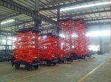 セリウムCertificateとの6-16m Electric Hydraulic Scissor Lift