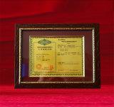 Certificaat van Vergunning