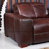 Sofa électrique de cuir de Recliner (625)