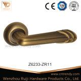 Modischer Zink-und Aluminium-Griff, Tür-Hebelgriff (Z6253)