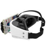 Smartphone를 위한 가상 현실 3D 유리 헬멧 Vr 상자 헤드폰 3.5 인치 ~ 6 인치 + 더 먼 Gamepad