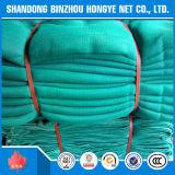 Rede de segurança verde da proteção do canteiro de obras do HDPE