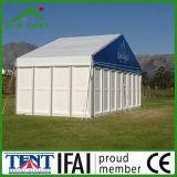 Partei-Dekoration, die im Freiengarten-Ereignis-Kabinendach-Schutz-Zelt Wedding ist