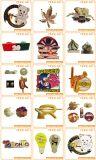 Kundenspezifisches weiches Decklackpin-Abzeichen für Andenken-Geschenke (YB-LP-03)
