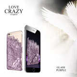 3D Angel Wings Plating Hard Case voor iPhone6