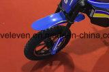 Bicicleta elétrica da sujeira dos miúdos distintivos simples