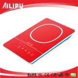 2016 Ultra Thin Red Color 120V 1500W Induction Burner/Induction Stove for Cooking Appliance