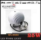 25W faro del CREE LED fuori dall'indicatore luminoso del lavoro del motore LED della strada ATV