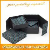 Impresión a todo color de empaquetado del rectángulo de la corbata