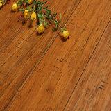 Suelo de bambú del tecleo de la cosecha