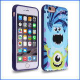 Soft Case voor iPhone Samsung Half-Way Pattern Phone Case