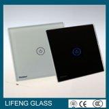 Vidrio de cristal ultra claro del panel del interruptor para el aparato electrodoméstico