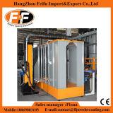 Halbautomatische Puder-Beschichtung-Zeile mit Autoamtic Beschichtung-Stand
