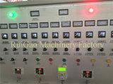 Máquina de sopro da película dobro do HDPE da cor