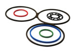 Großhandelssilikon-Gummi-Ring-Dichtungsringe hergestellt in China