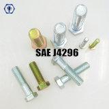 Parafuso de tampão Hex do parafuso do SAE J429 Grade2/5/8