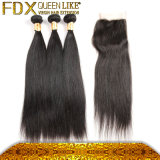 高品質Human Hair SoftおよびSilky Straight Hair Extensions