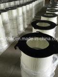 Cartucho plisado industrial del filtro de aire