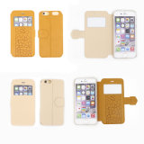 iPhone 6のためのPU Protective二重Sided Mobile Phone Case