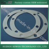 Guarnizione trasparente della guarnizione del silicone della guarnizione piana di gomma di alta qualità della Cina